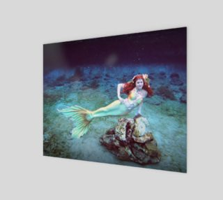 Underwater Mermaid Print preview