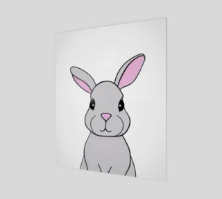 "Rosie the Rabbit Print - 20""x24"" preview"
