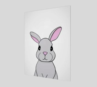 Rosie the Rabbit Print - 3:4 preview
