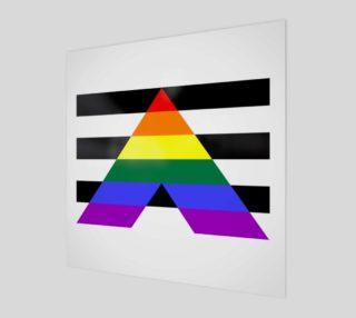 Ally LGBT Wall Art preview