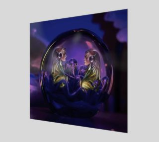 Purple Women Wall Art preview