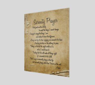 the full Serenity Prayer - 16x20 preview