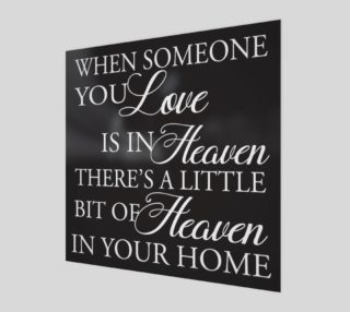 When someone you love is in Heaven preview