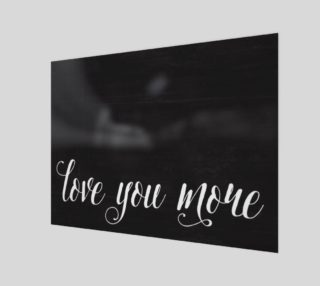 Love you more preview