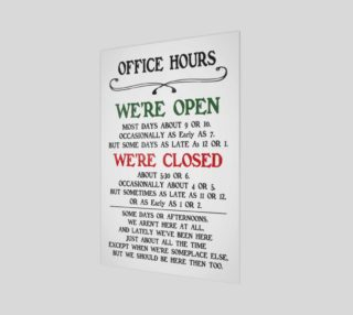 Office Hours preview