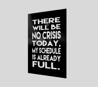 Aperçu de There will be no crisis today