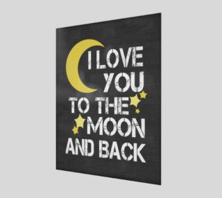 I love you to the moon and back preview