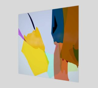 Yellow Abstract by HOLLIDAY preview