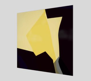 Contemporary Yellow & Black by HOLLIDAY preview