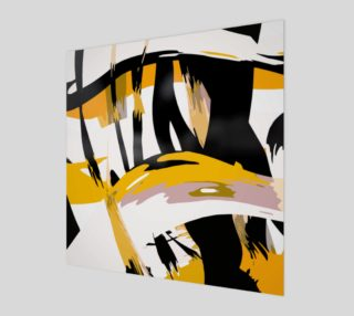 BW & Yellow Virtual Reality Abstract  preview