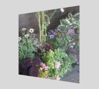 Flower Bed Wall Art preview