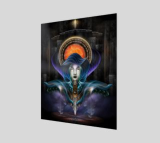 Trilia - Goddess Of The Orange Moon 16x20 Poster preview