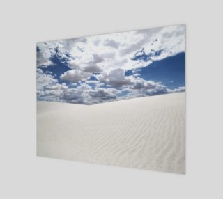 White Sands, Blue Skies - Acrylic 14x11 preview