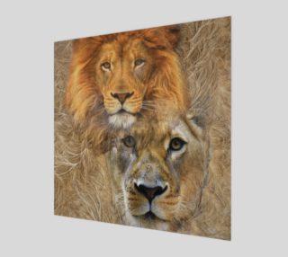 Aperçu de Lion King and Queen