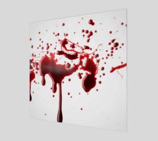 Blood Splatter three wall art preview