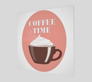 Coffee Delight Art Print preview