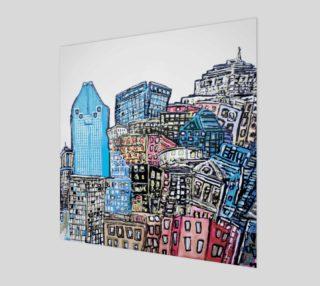 Aperçu de Montreal by Mélanie Bernard Art
