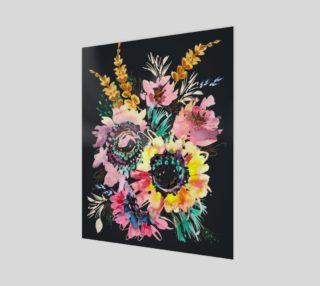 Aperçu de Whimsical Flower Meadow 16x20