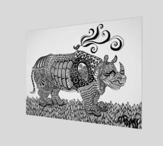 Aperçu de Deco Rhino print