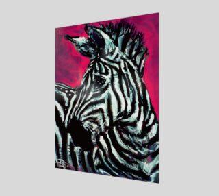 Abrica-Zebra Fashion-Match Print by Lowell SV Devin preview