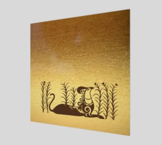 Aperçu de  Knossos griffin on a gold background