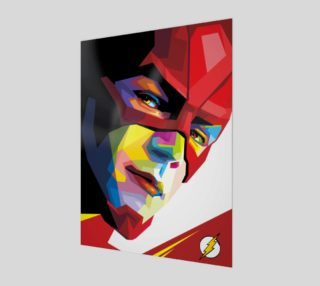 colorful pop art the flash  preview