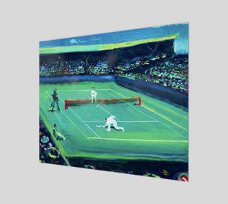 Grand Slam Fashion-Match Wall Art Print preview