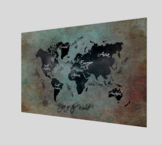 Map of the World poster preview