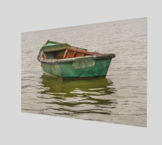 Lonely Old Fishing Boat at Santa Lucia River preview