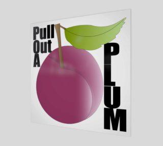 Aperçu de Plum Fruit Wall Art 190120H