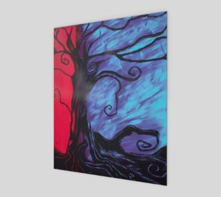 Mystic Night Art Print 8x10 preview