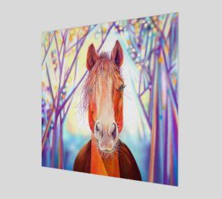 Aperçu de Horse at Dawn Art Print