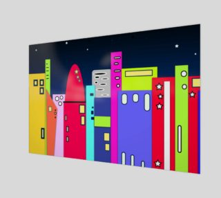 """Space City Wall Art 12"""" x 8"""" preview"""