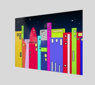 """Space City Wall Art 10"""" x 7.5"""" preview"""