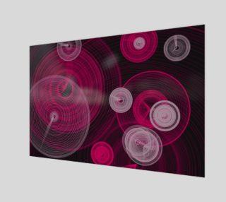 "Circles Wall Art 12"" x 8"" preview"