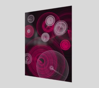 "Circles Wall Art 7.5"" x 10"" preview"