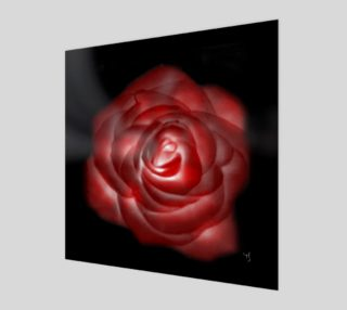 Aperçu de Glowing Rose Fine Art print by Tabz Jones