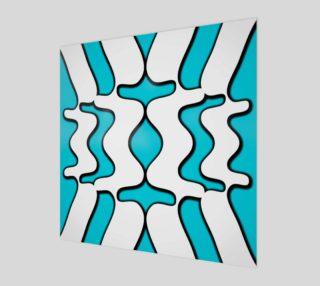 Blue Wave Print preview