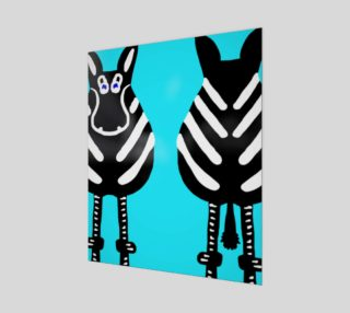 """Zebra Both Ends 20"""" x 24"""" preview"""