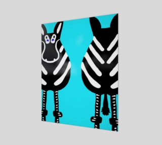 """Zebra Both Ends 16"""" x 20""""  preview"""