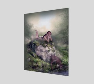 Afternoon Idyll fantasy nude by Tabz Jones preview