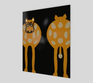 "Silly Cow Wall Art 8"" x 10"" preview"