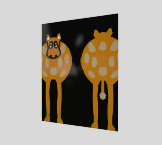 """Silly Cow Wall Art 16"""" x 20"""" preview"""
