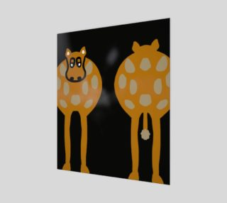 """Silly Cow Wall Art 20"""" x 24"""" preview"""