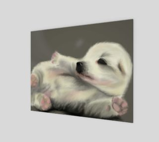 """Adorable Puppy Wall Art 10"""" x 8"""" preview"""