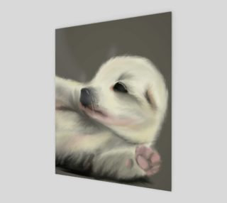 """Adorable Puppy Wall Art 8"""" x 10"""" preview"""