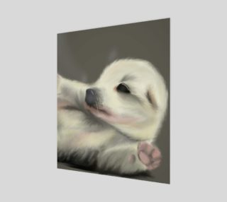 """Adorable Puppy Wall Art 20"""" x 24"""" preview"""