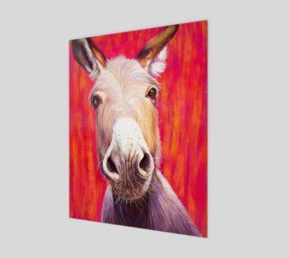 "Aperçu de 11' x 14"" Donkey"