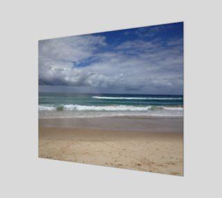 """Aperçu de Wearing the Beach (24"""" x 20"""")"""