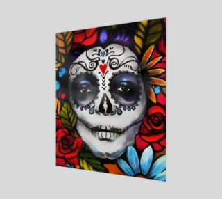 "Day of the Dead 20"" x 24"" preview"